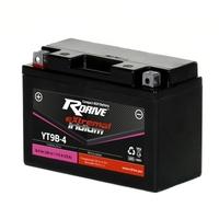 Мото аккумулятор RDRIVE eXtremal Iridium YT9B-4