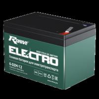 Тяговый аккумулятор для электровелосипедов RDRIVE ELECTRO 6-DZM-12
