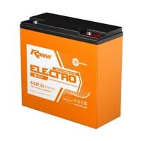 Тяговый аккумулятор для электровелосипедов RDRIVE ELECTRO VELO 6-DZF-22