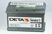 DETA Senator3 DA722 (72 А·ч)