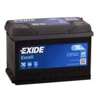 Exide Excell EB740 (74 А/ч)