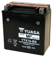 Мотоаккумулятор YUASA YTX16-BS (США)