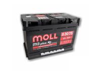 АКБ б/у Moll M3 Plus 75 Ah R