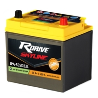 Аккумулятор для гибридных авто RDrive SKYLINE HV Start-Stop S55D23L